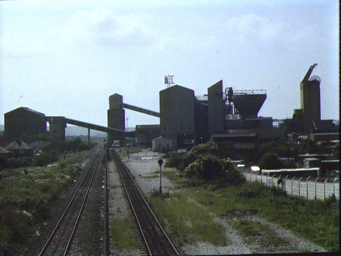 Hucknall Colliery sidings