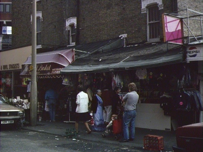1986 - Market stall, pre-mall