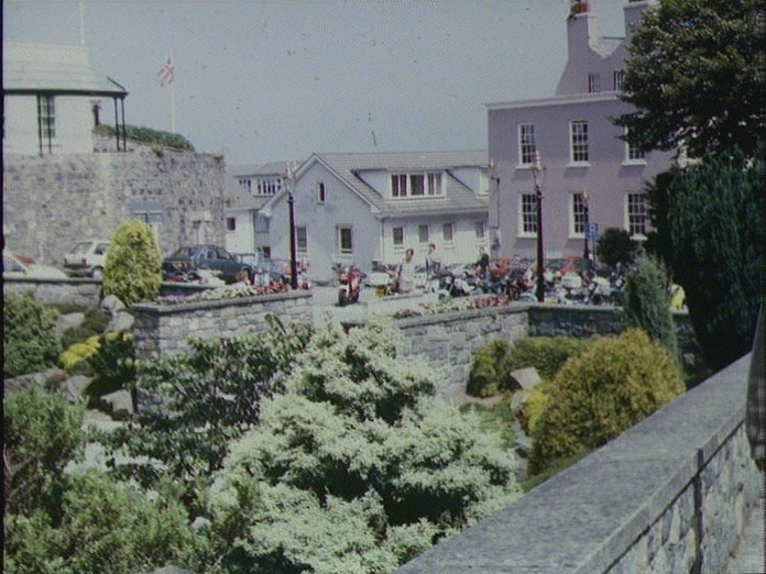 ST. PETER PORT IN GUERNSEY-1986