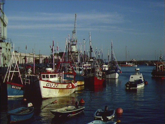 Guernsey's Fishing Fleet-1986