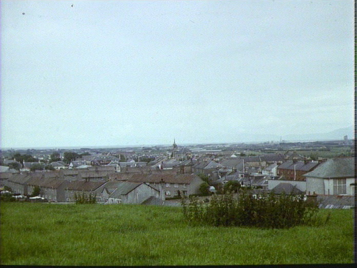 Irvine New Town, wide view.-1986