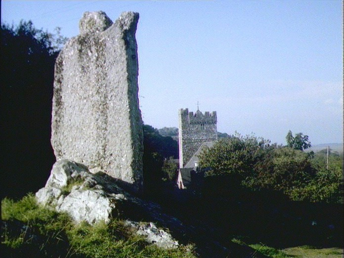 CHURCH AND STANDING STONE-1986