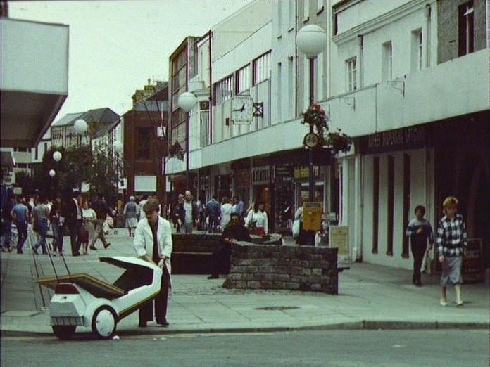 Llanelli Shopping Area.-1986