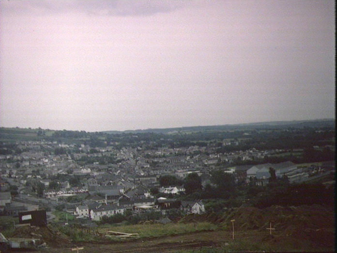 Pontarddulais, an urban view-1986