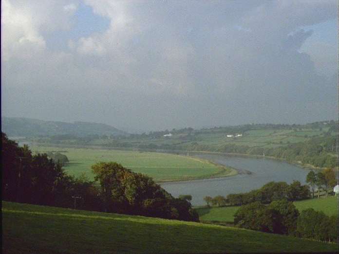 GENERAL VIEW OF RIVER CONWY-1986
