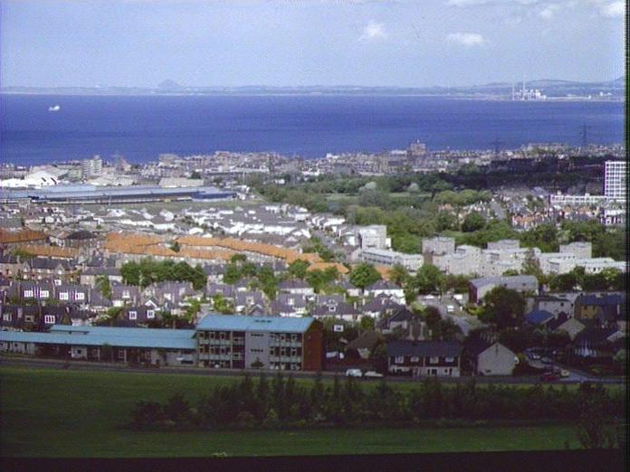 General View of East Edinburgh-1986