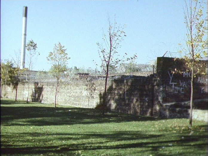REMAINS OF OLD ROPE FACTORY-1986