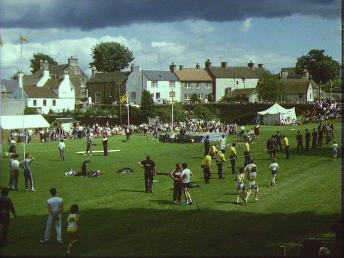 Ceres Highland Games.-1986
