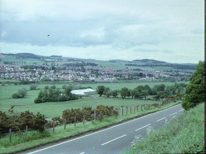 CUPAR FROM THE SOUTH-1986