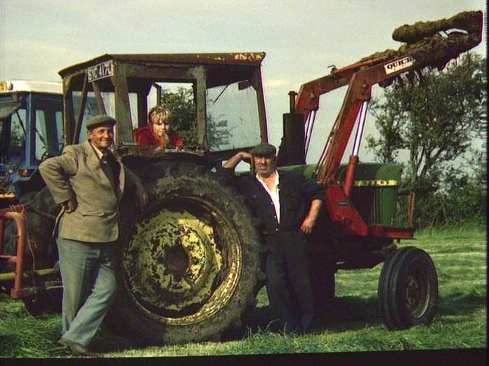 Haymaking at Blackford-1986