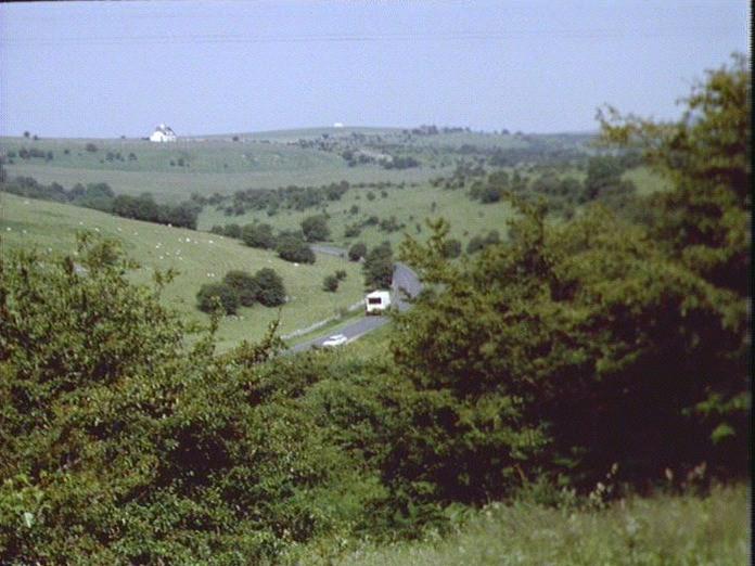 A View of Mendip Plateau-1986