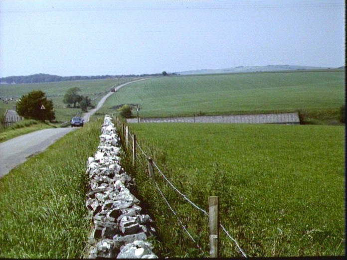 A VIEW OF THE MENDIP PLATEAU-1986