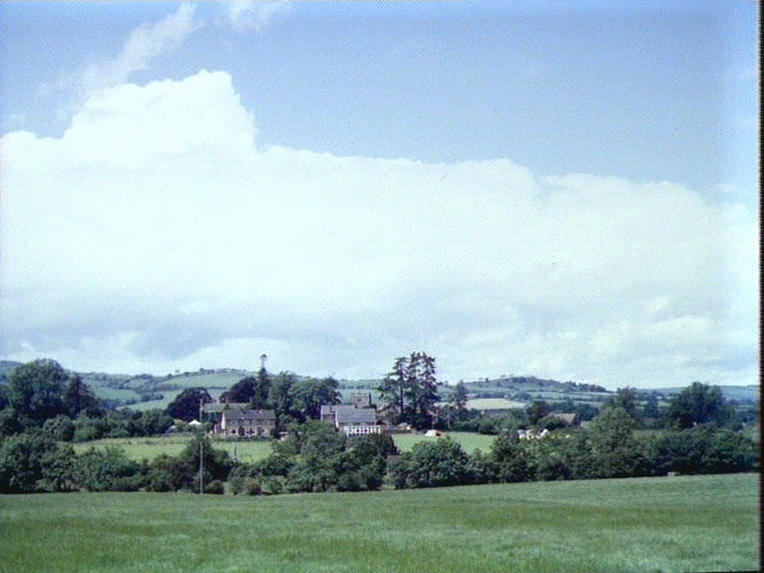 GENERAL VIEW OF RUSHBURY-1986