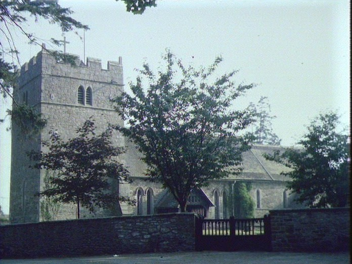 ST. PETER'S CHURCH, RUSHBURY-1986
