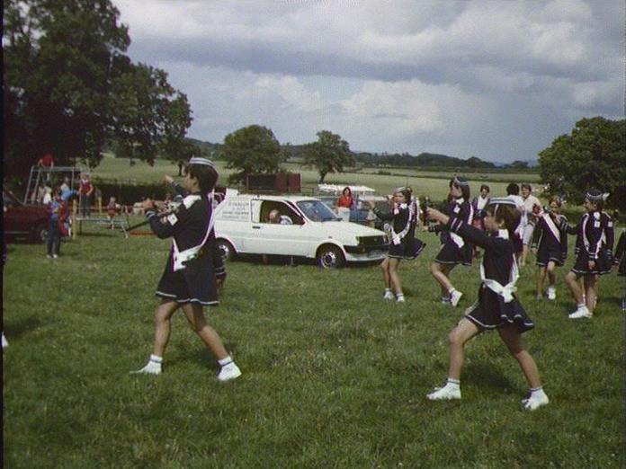 Majorettes at Holwell-1986