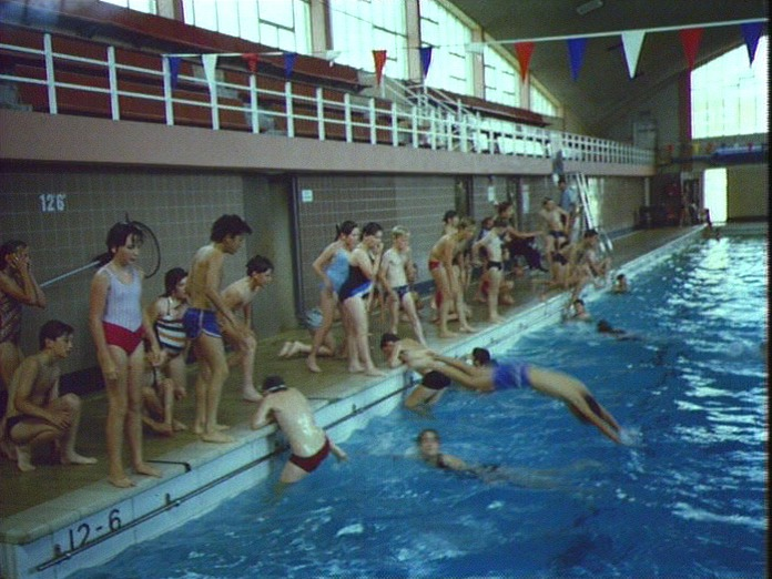 Swimmming lesson.-1986