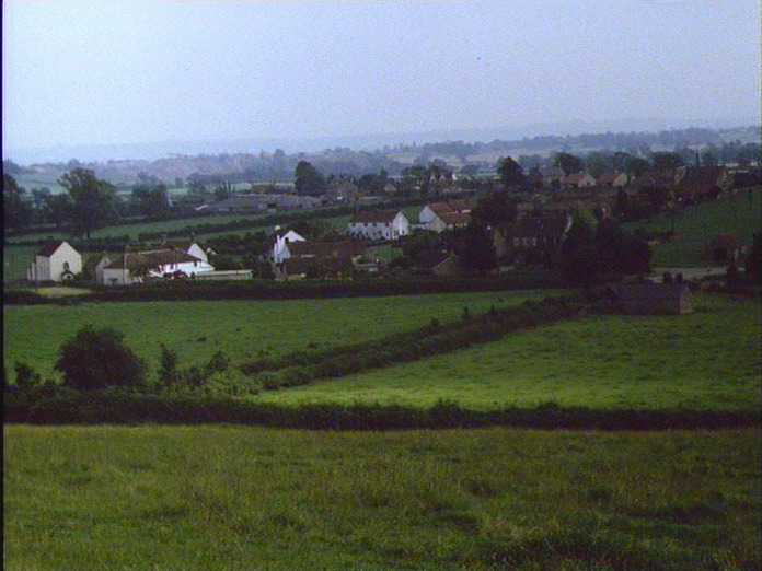 Cromhall from Butcher's Hill-1986