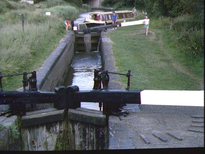 The Offerton Locks and Canal.-1986