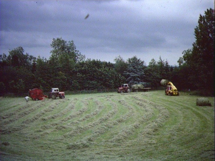 Farm machinery for hay making-1986