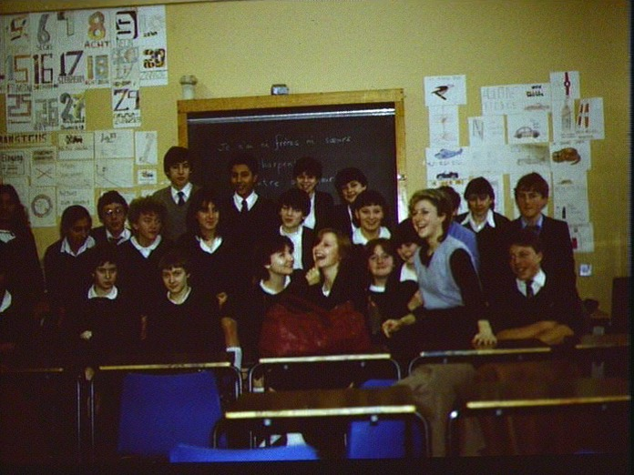 A French class at Pool Hayes.-1986