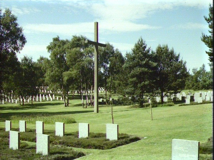 German Military Cemetery-1986