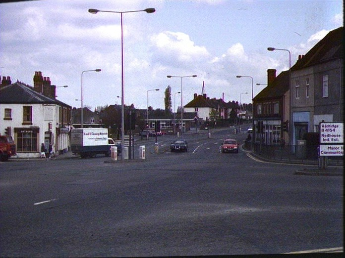 RUSHALL ROAD JUNCTION-1986