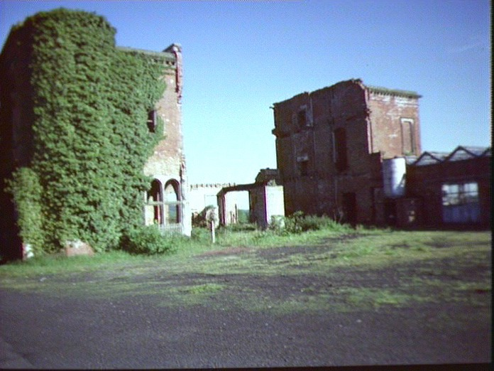 Ruins of house at Woodseat.-1986