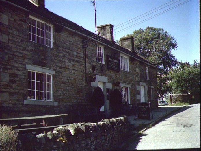 The Black Lion pub, Butterton-1986