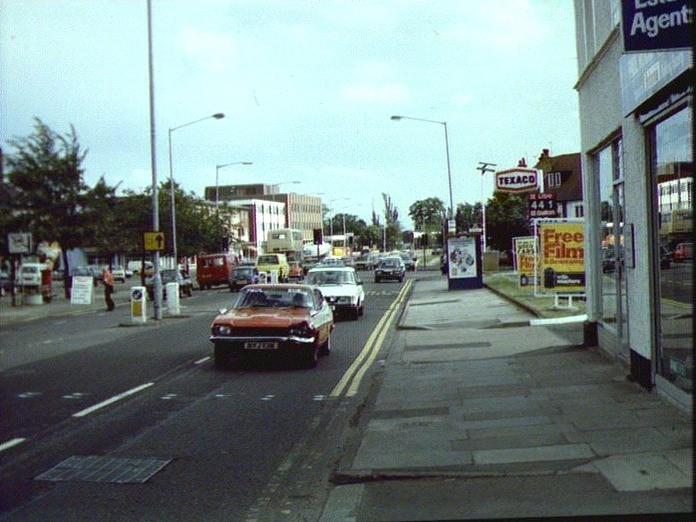 The Stratford Road, Solihull.-1986