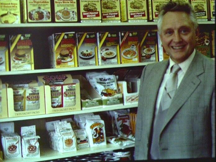 A Solihull health food shop.-1986