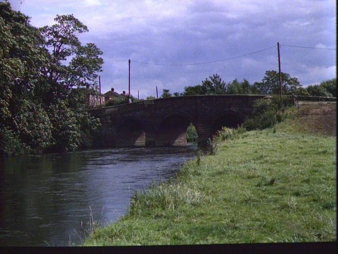 River Tame at Elford-1986