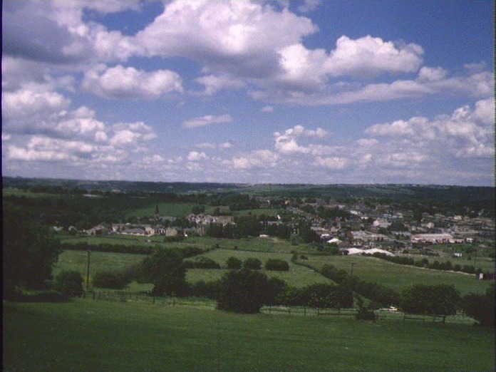 View Cleckheaton nearest town-1986