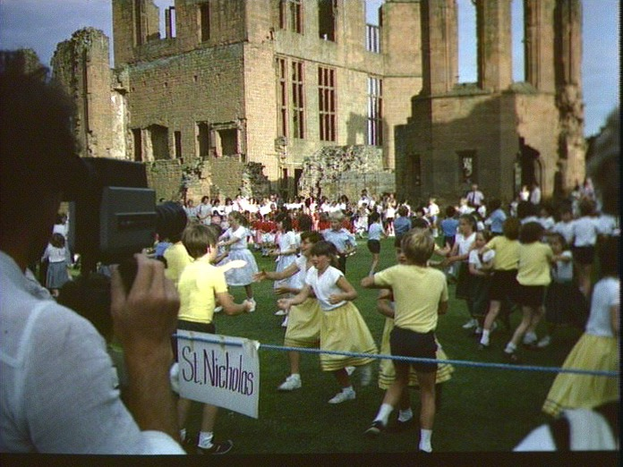 Kenilworth Castle in 1985.-1986