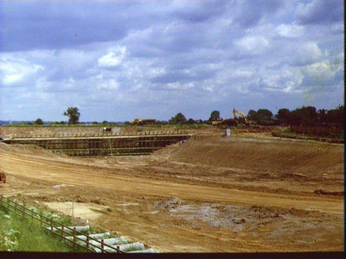 M42 APPLEBY FIELDS JUNCTION-1986