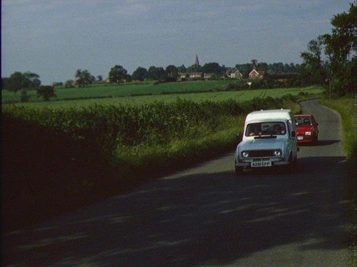 View of Lullington village-1986