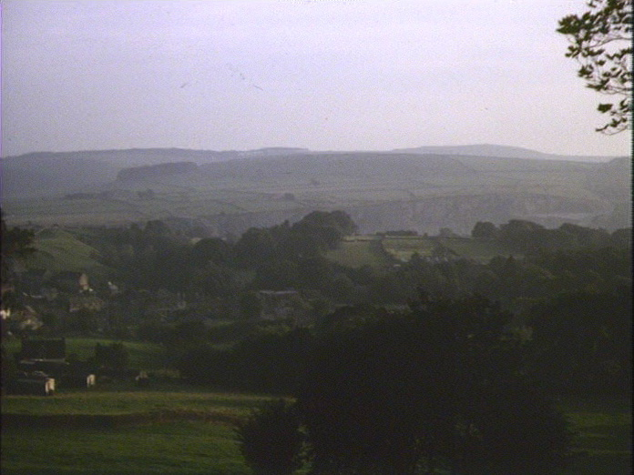 GENERAL VIEW OF EYAM.-1986