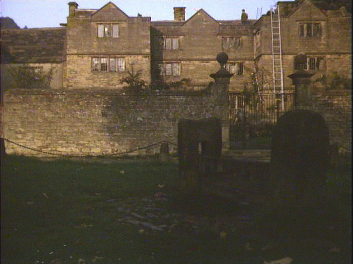 View of Eyam Hall and Stocks-1986