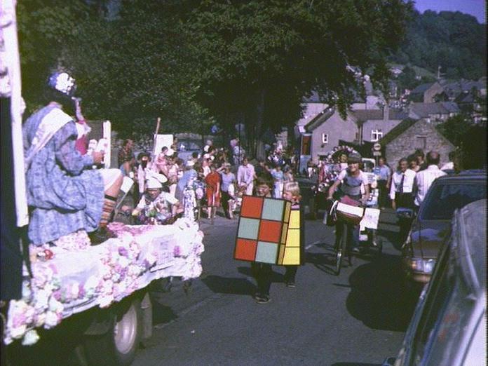 Eyam Carnival Procession 1981-1986