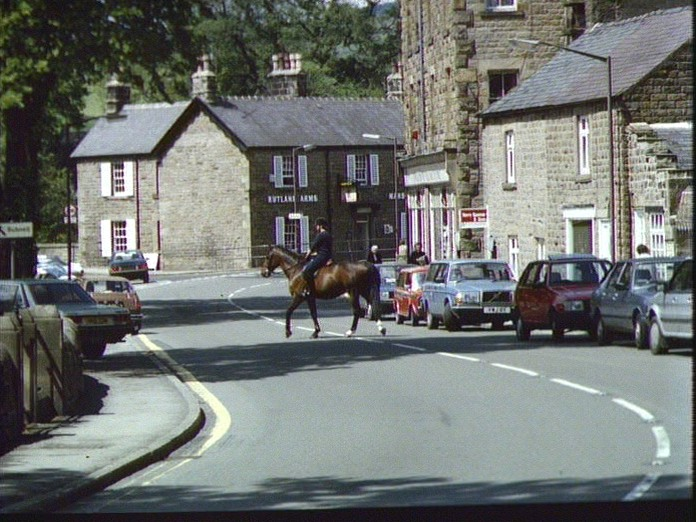 Church Road in Baslow-1986
