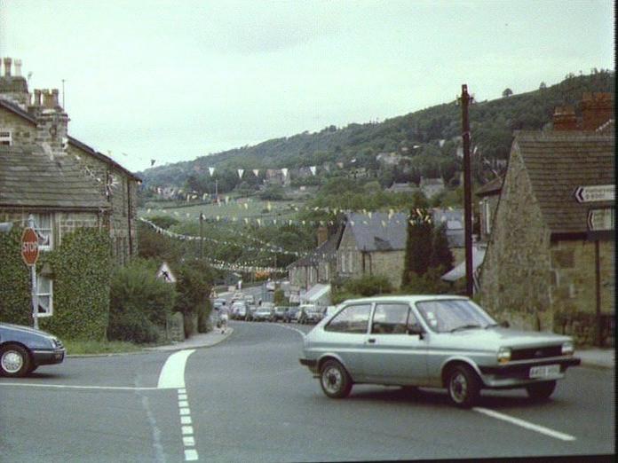 GRINDLEFORD HIGH STREET-1986