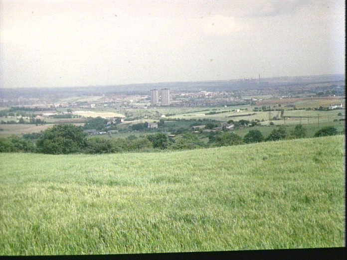PANARAMIC VIEW FROM GILDERSOME-1986