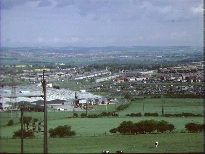 Spennymoor from the South-1986
