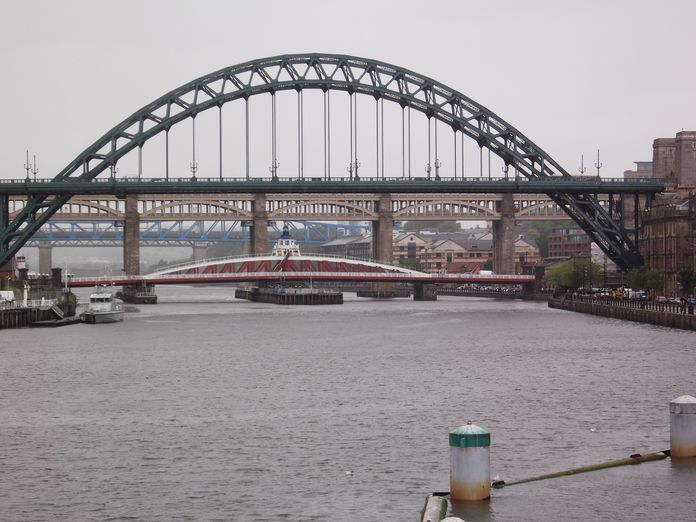 Bridges across the River Tyne-2011