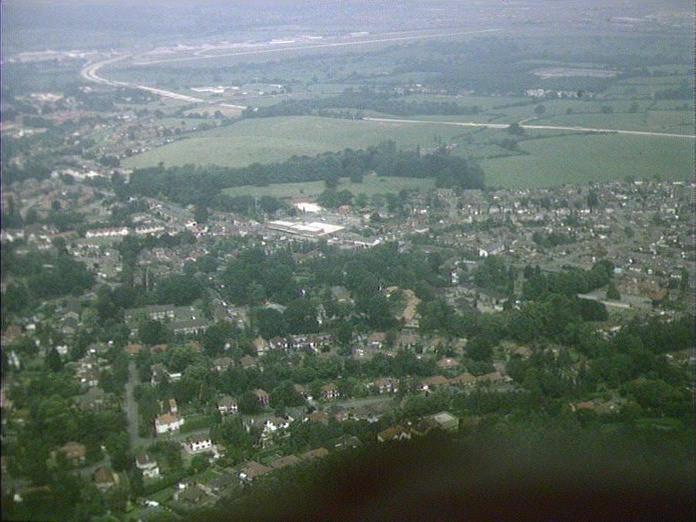 OUTSKIRTS OF SOUTHAMPTON-1986