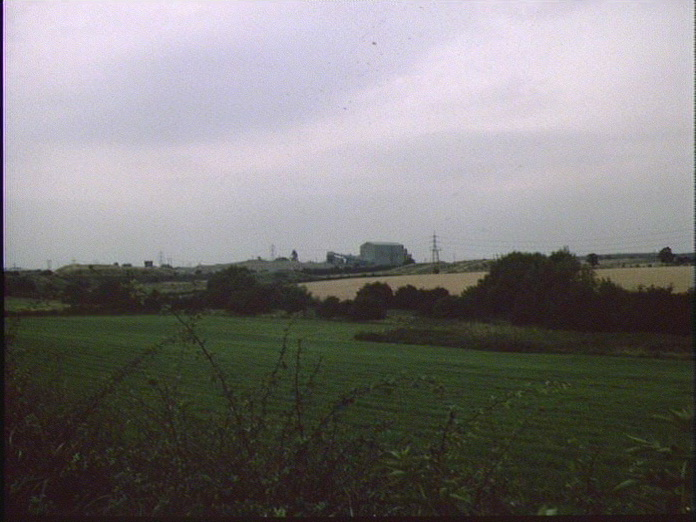 Thurcroft Colliery and fields-1986