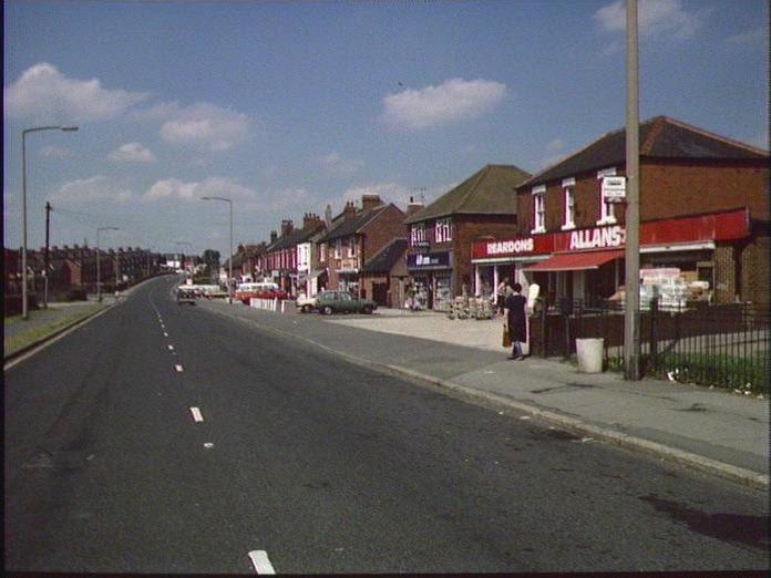 Thurcroft Shopping Centre-1986