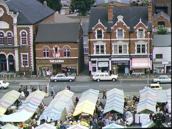 Hucknall Market Place-1986