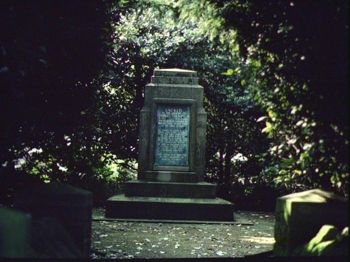 Thompson's Grave.-1986