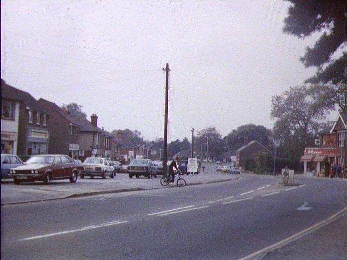 Denmead Village Centre.-1986