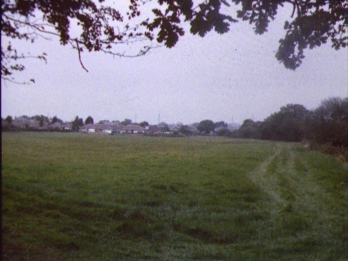 General View Of Denmead Area.-1986